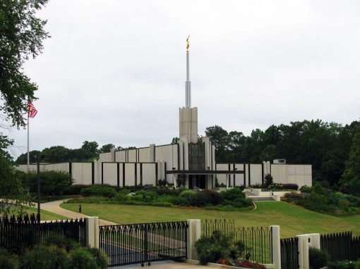 LDS Temple – Atlanta Georgia