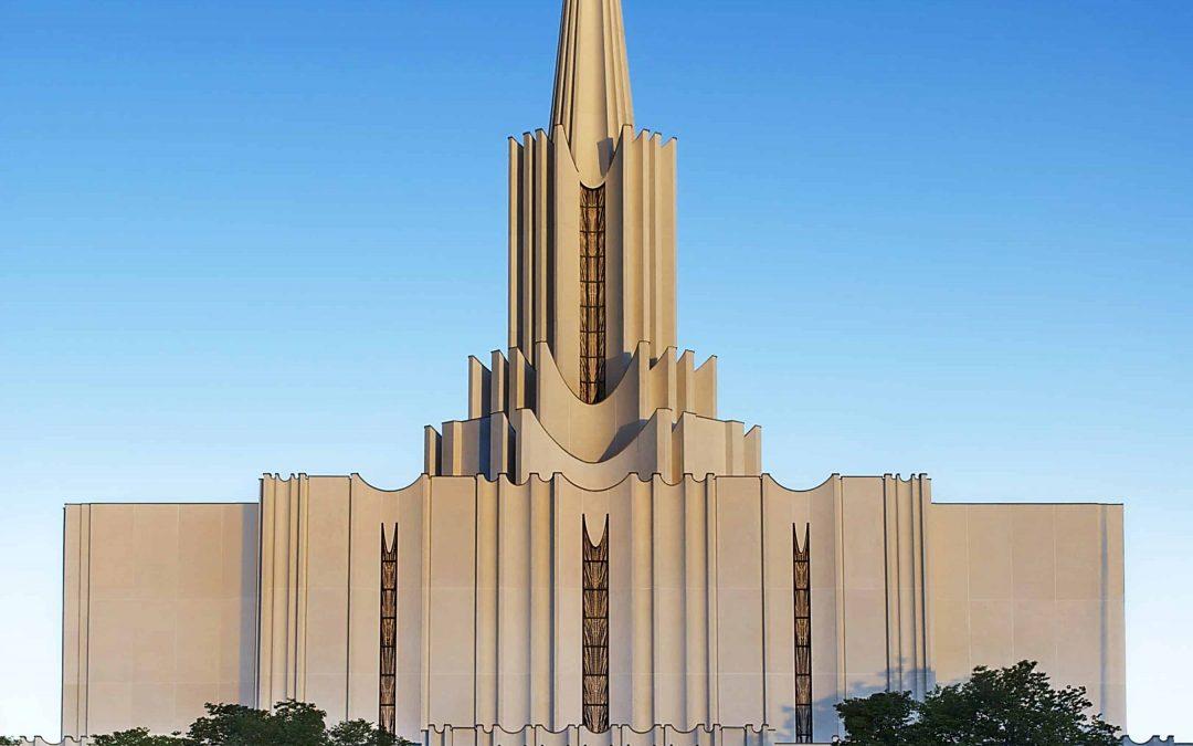 LDS Temple – Jordan River Temple