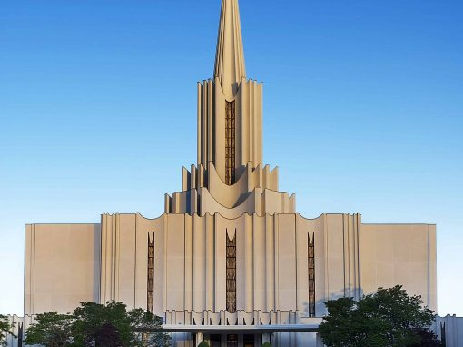 LDS Temple – West Jordan Utah