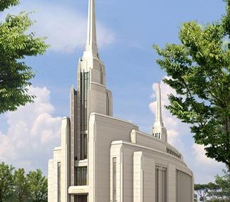 LDS Temple – Rome Italy